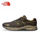The North Face北面男款棕色防水透氣徒步鞋