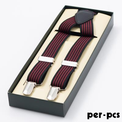 per-pcs 紳士品味吊帶/吊帶夾_黑紅(315-0001)