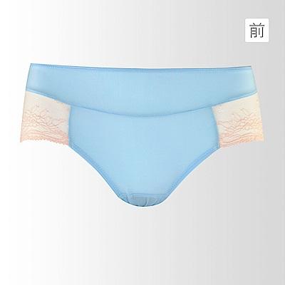 蕾黛絲-呼吸真水平口內褲 M-L(天空藍)