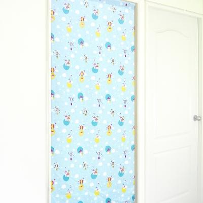 布安於室-熱氣球遮光風水簾-藍色