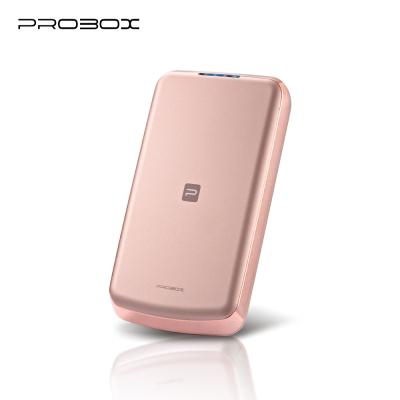 PROBOX panasonic電芯 流線型超薄 8300mAh 行動電源-玫瑰金
