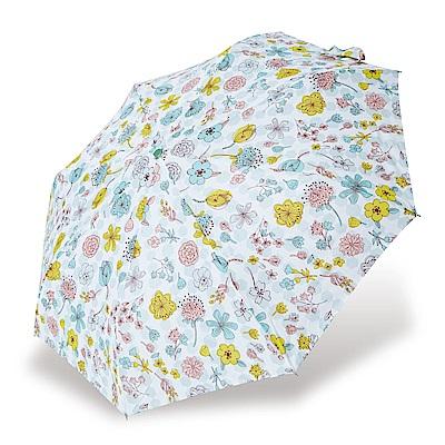 RAINSTORY花漾戀曲(綠)抗UV省力自動傘
