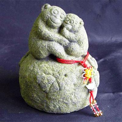 開運陶源  石塑造十二生肖【猴】青斗石*限量888