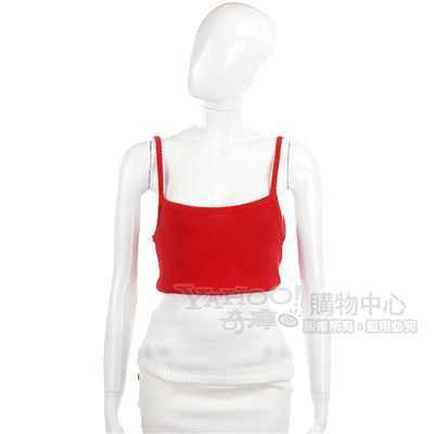MANTANA 紅白色細肩帶背心