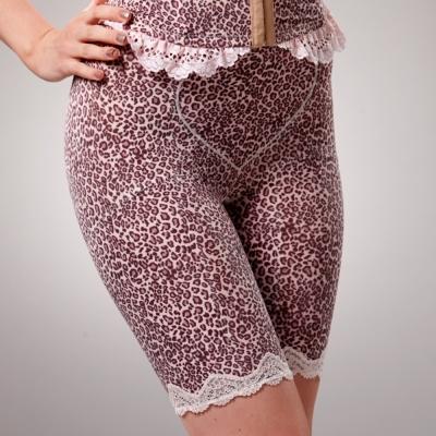 La-Felino-花園野趣輕機能束褲-誘人紫