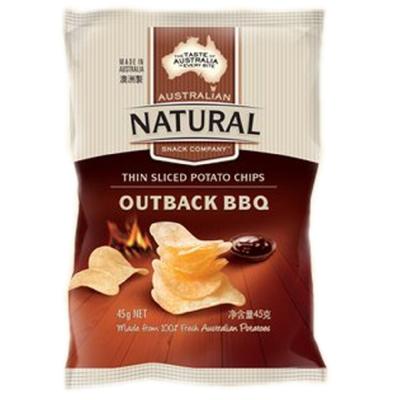 澳洲Natural 澳式BBQ口味洋芋片(45g)