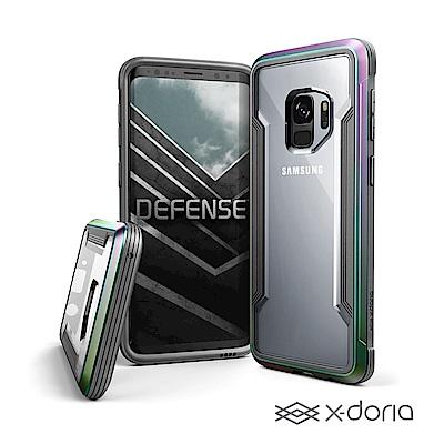 x-doria SAMSUNG S9 刀鋒極盾防摔手機殼 - 繽紛虹
