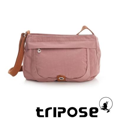 tripose 微旅系列淑女側肩包 粉膚