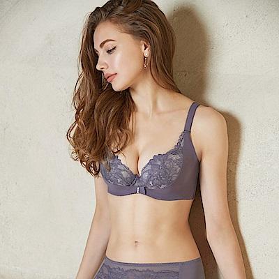曼黛瑪璉 V極線內衣  B-D罩杯(貴族紫)