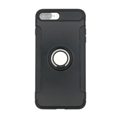 PKG  Apple IPhone 7 8 PLUS抗震指環殼-支援磁吸車架功能
