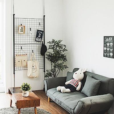 Home Feeling 頂天立地掛架/收納架/置物架(2色)-89X325