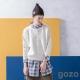 gozo北歐式浪漫心鎖針織毛衣(二色)-動態