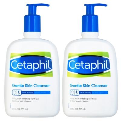 Cetaphil舒特膚 溫和清潔乳20oz (2入特惠)