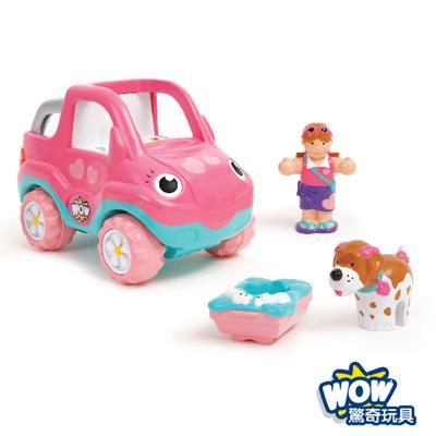 英國【WOW Toys 驚奇玩具】假期吉普車 佩妮