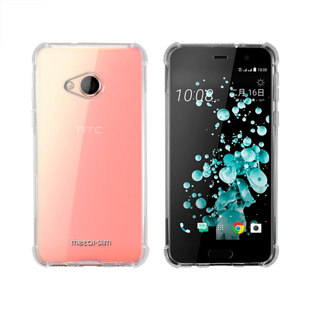 Metal-Slim HTC U Play 強化防摔抗震空壓手機殼 @ Y!購物