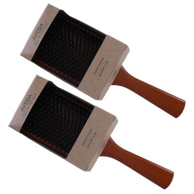 AVEDA 木質髮梳*2支-