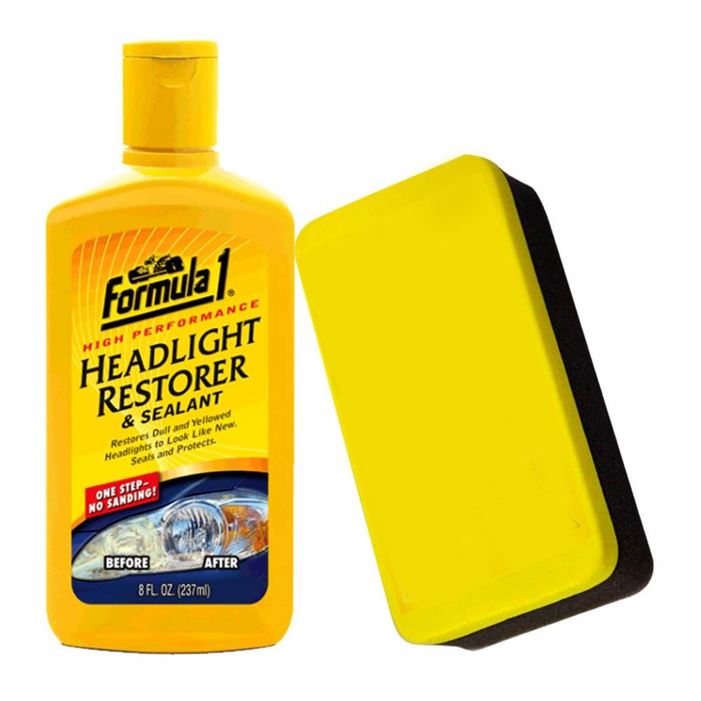 美國品牌 Formula1 車頭燈拋亮&密封劑