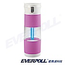 EVERPOLL愛惠浦 淨Water UV 生飲隨身瓶(蘭花紫)+贈4入濾芯