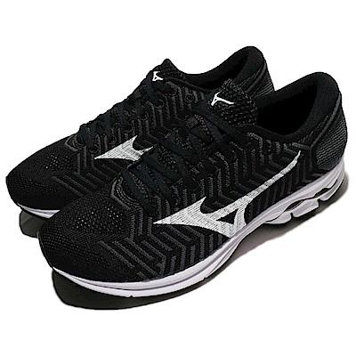 Mizuno 慢跑鞋 Waveknit R1 運動 男鞋