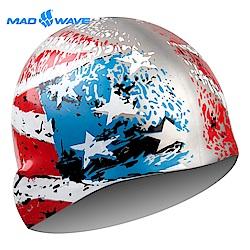 俄羅斯 邁俄威 成人矽膠泳帽 MADWAVE USA