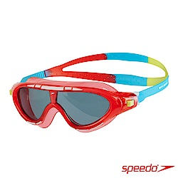 SPEEDO 兒童 運動泳鏡 Biofuse Rift 紅藍