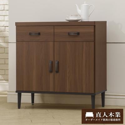 日本直人木業- Industry80CM雙門廚櫃