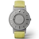EONE 美國設計品牌 Bradley 觸感腕錶-蘋果綠/40mm