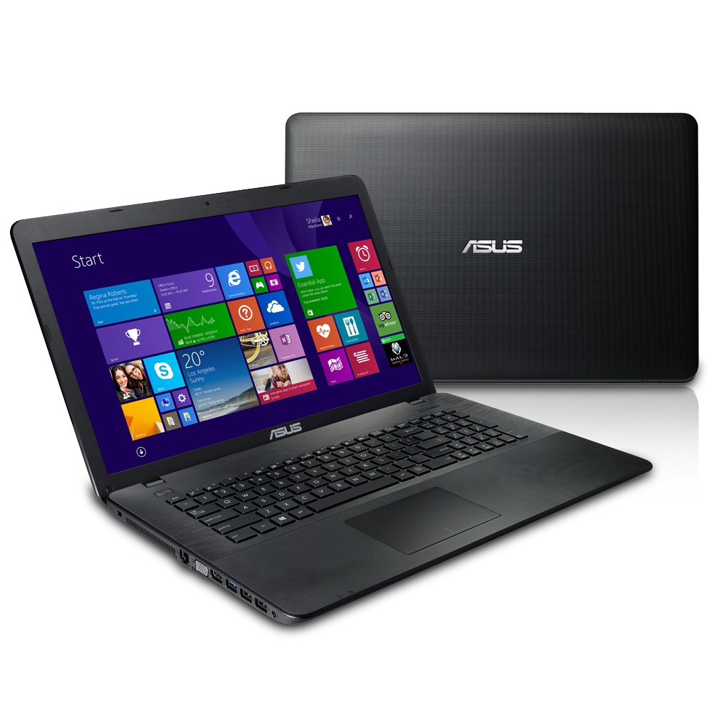 ASUS X751MJ 17吋筆電(N3540/4G/500G/W8.1)