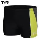 美國TYR男用四角款泳褲Cragen Boxer Lime 台灣總代理