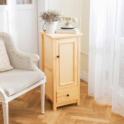 CiS自然行實木家具 收納櫃-原木瓶罐收納櫃(扁柏自然色)