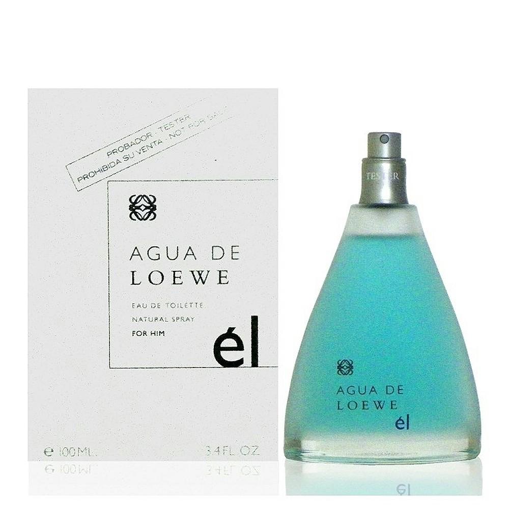 Loewe Agua el 活力之泉-藍男性淡香水 100ml Tester 包裝