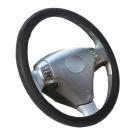 CARBUFF 車痴碳纖紋&舒適吸汗牛皮方向盤套 MH-9021
