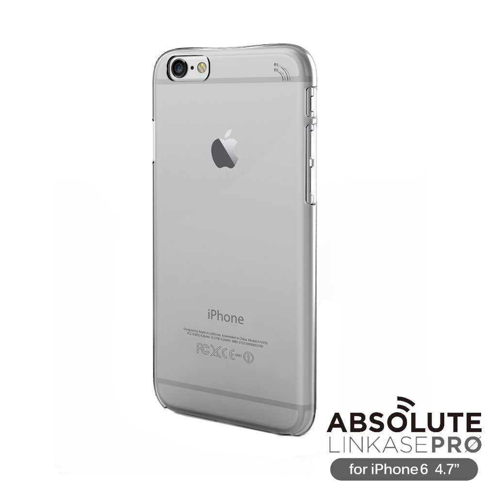 ABSOLUTE Clear iPhone6 4.7 全透明硬質保護殼(附雷射切割膜)