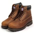 Kai Shin 高筒安全工作鞋 褐色 M-G6010C00-KP