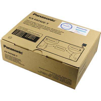 Panasonic 國際牌原廠碳粉匣KX-FAT92E(三入裝)