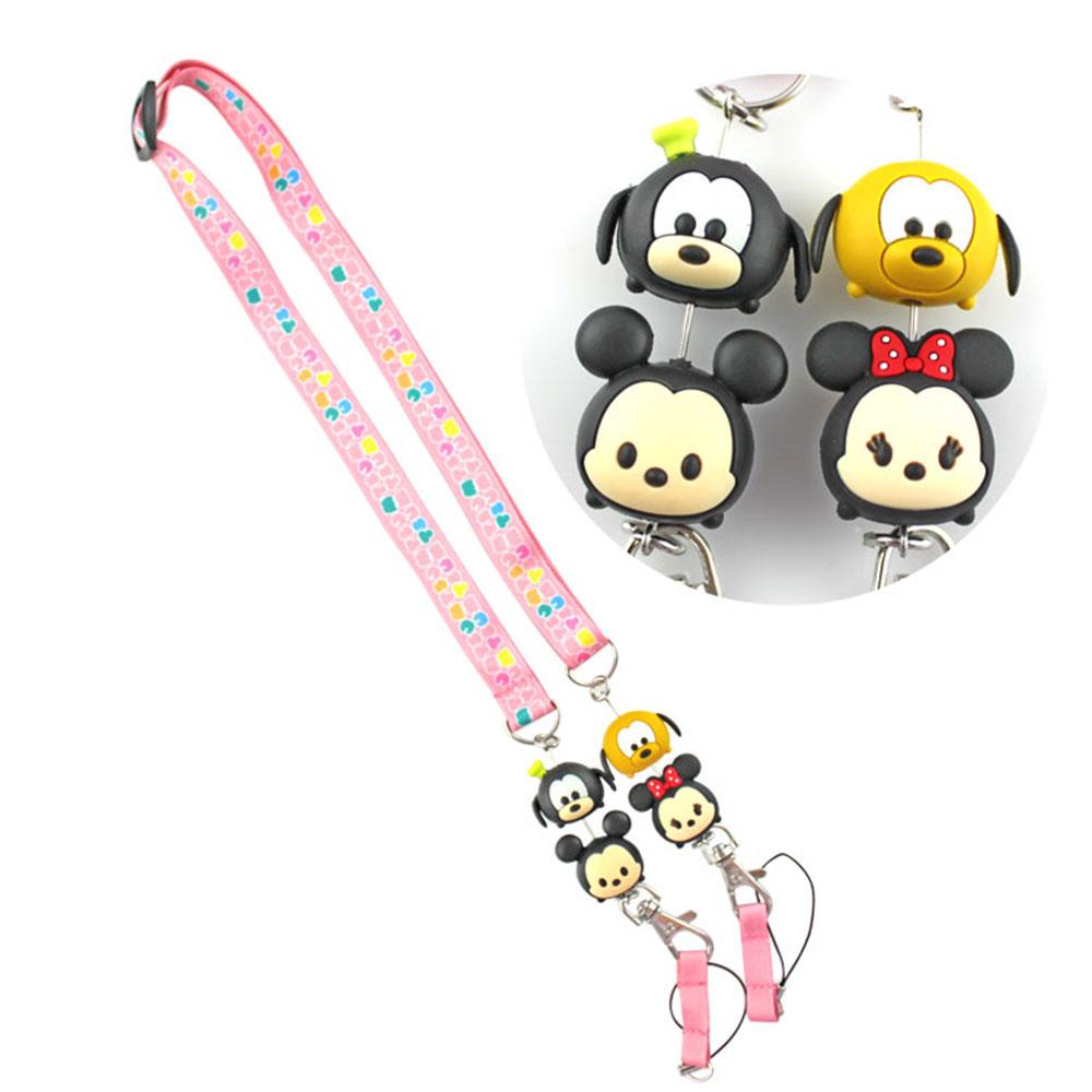 Disney TSUM TSUM 造型手機袋吊繩/識別證帶 @ Y!購物
