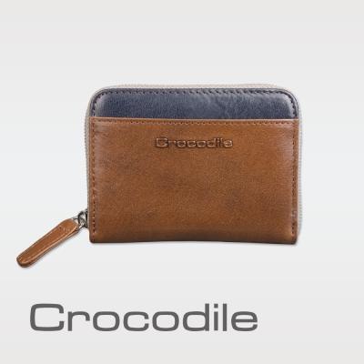 Crocodile Naturale系列Easy輕巧拉鍊零錢包 0103-08105-02