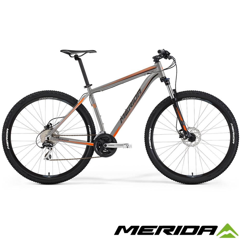 (無卡分期-12期)《MERIDA》歐洲款 中大輪徑登山車 Big Seven 20D 灰