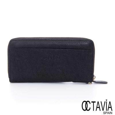 OCTAVIA-8-真皮-ensoen-真皮全拉式長夾-黑