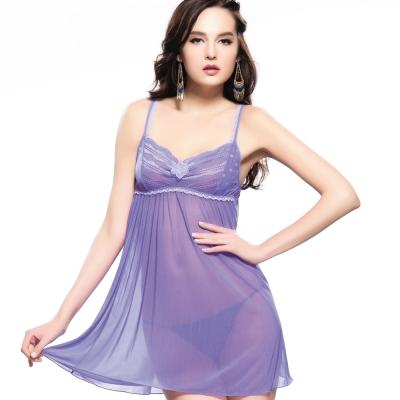 思薇爾-啵時尚系列小夜衣-新繹紫