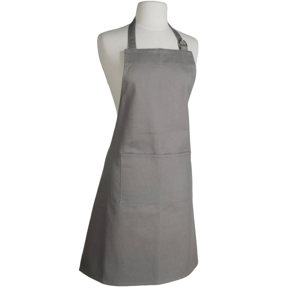 NOW 平口單袋圍裙(灰)