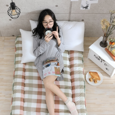 GOODDAY 高密度纖維棉和室床墊 雙人5尺(格紋)