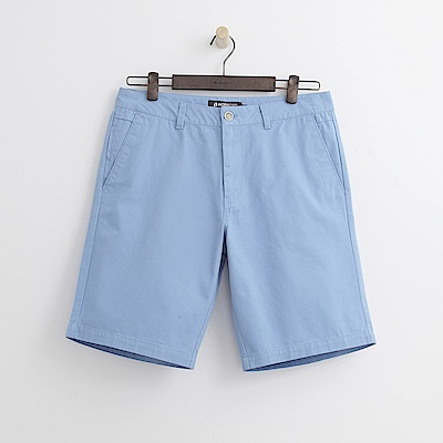 Hang Ten - 男裝 - 百慕達休閒短褲-淺藍色