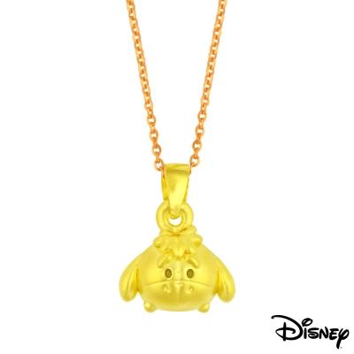 Disney迪士尼金飾 TSUM屹耳黃金墜子 送項鍊