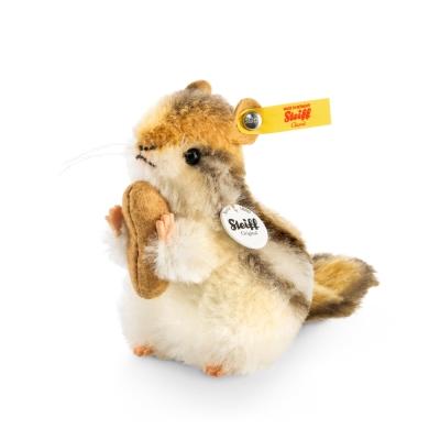 STEIFF德國金耳釦泰迪熊 - Kecki Chipmunk 花栗鼠 (動物王國)