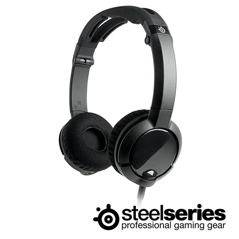 ★SteelSeries FLUX耳機麥克風(黑)
