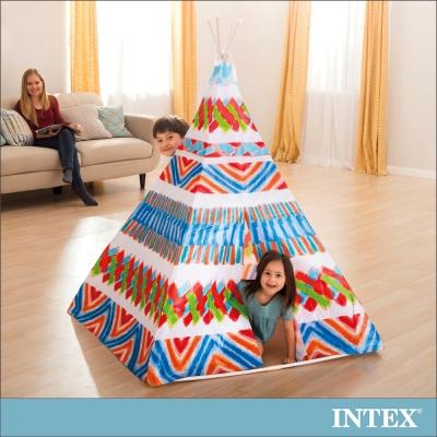 INTEX 兒童印地安錐形遊戲帳篷 (48629)
