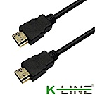 K-Line HDMI to HDMI 4K超高畫質影音傳輸線 2M