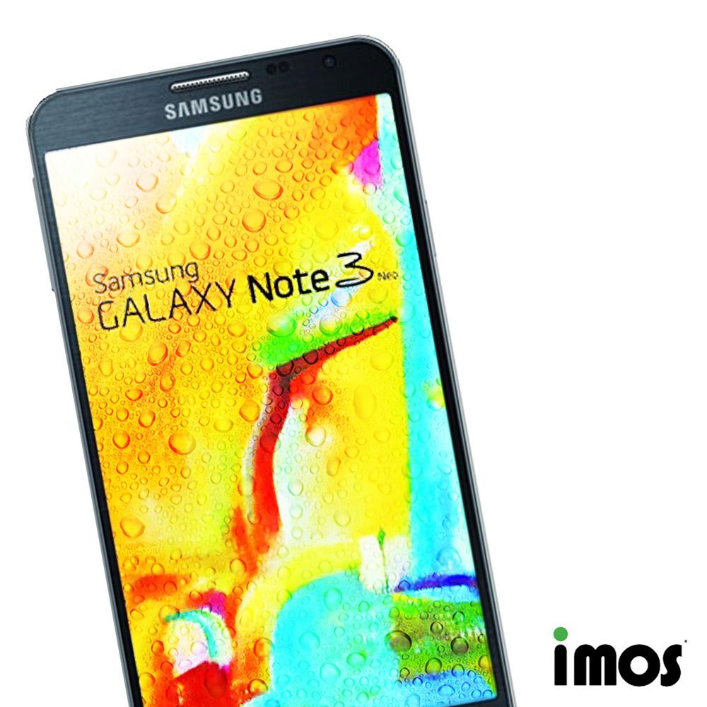 iMos Samsung GALAXY Note3 NEO 超抗潑水疏油效果保護貼