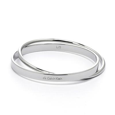 Calvin Klein CK 摩登冰冽感雙環手環